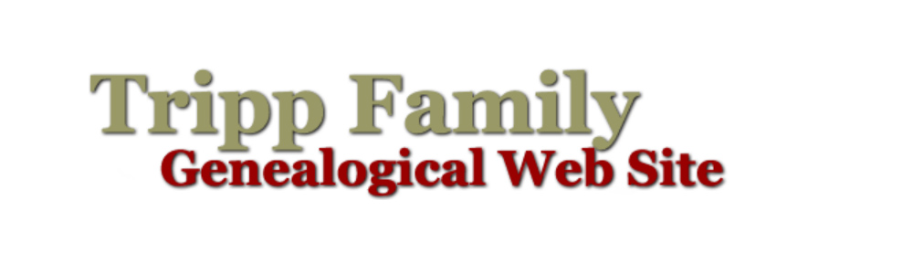 Tripp Family Genealogical Web Site